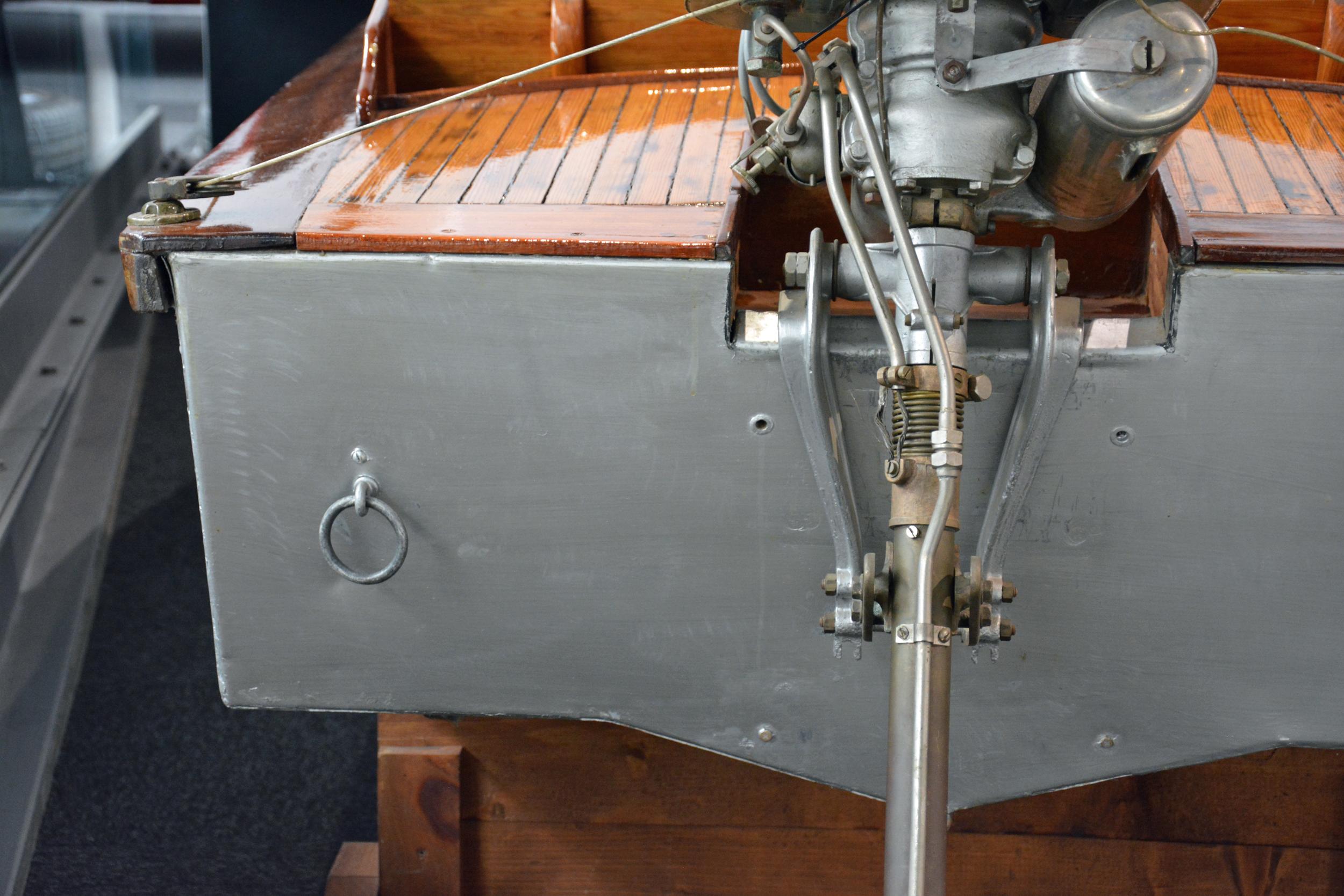 saab museum boat rear engine