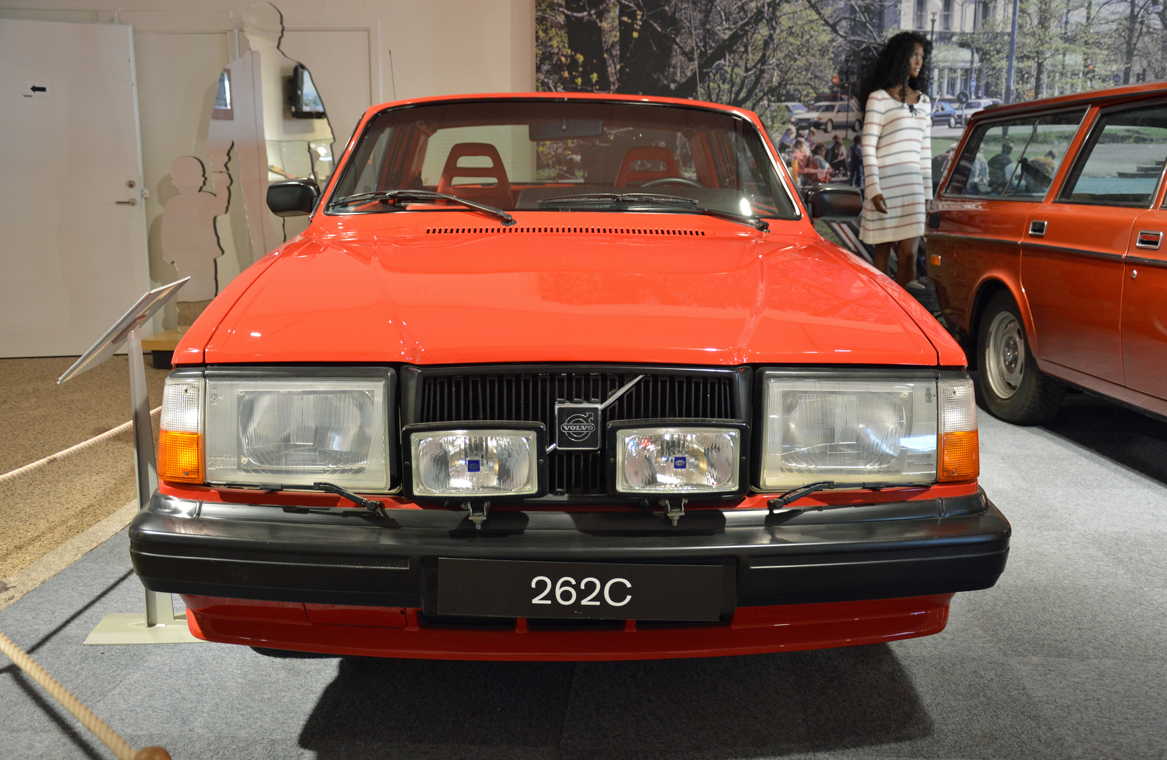 saab museum volvo 262c front view