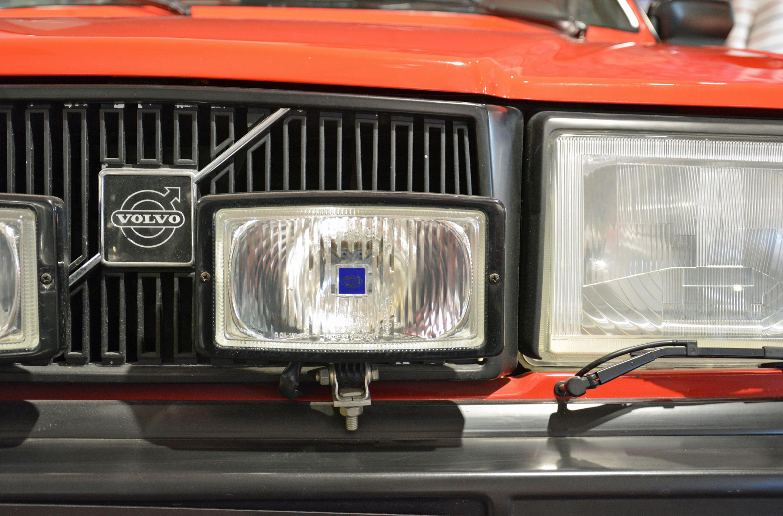 saab museum 262c headlight detail