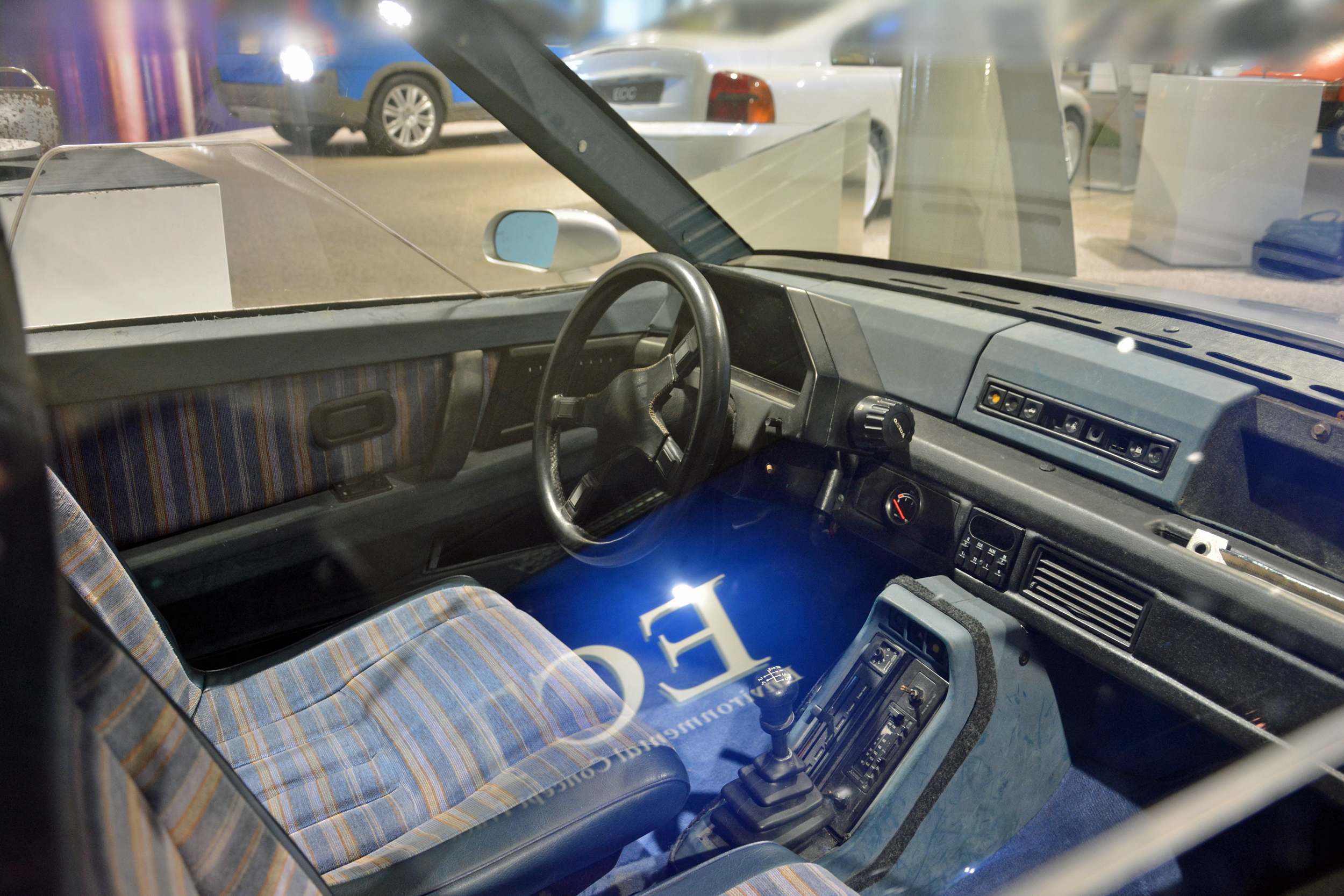 saab museum volvo lcp interior passenger view