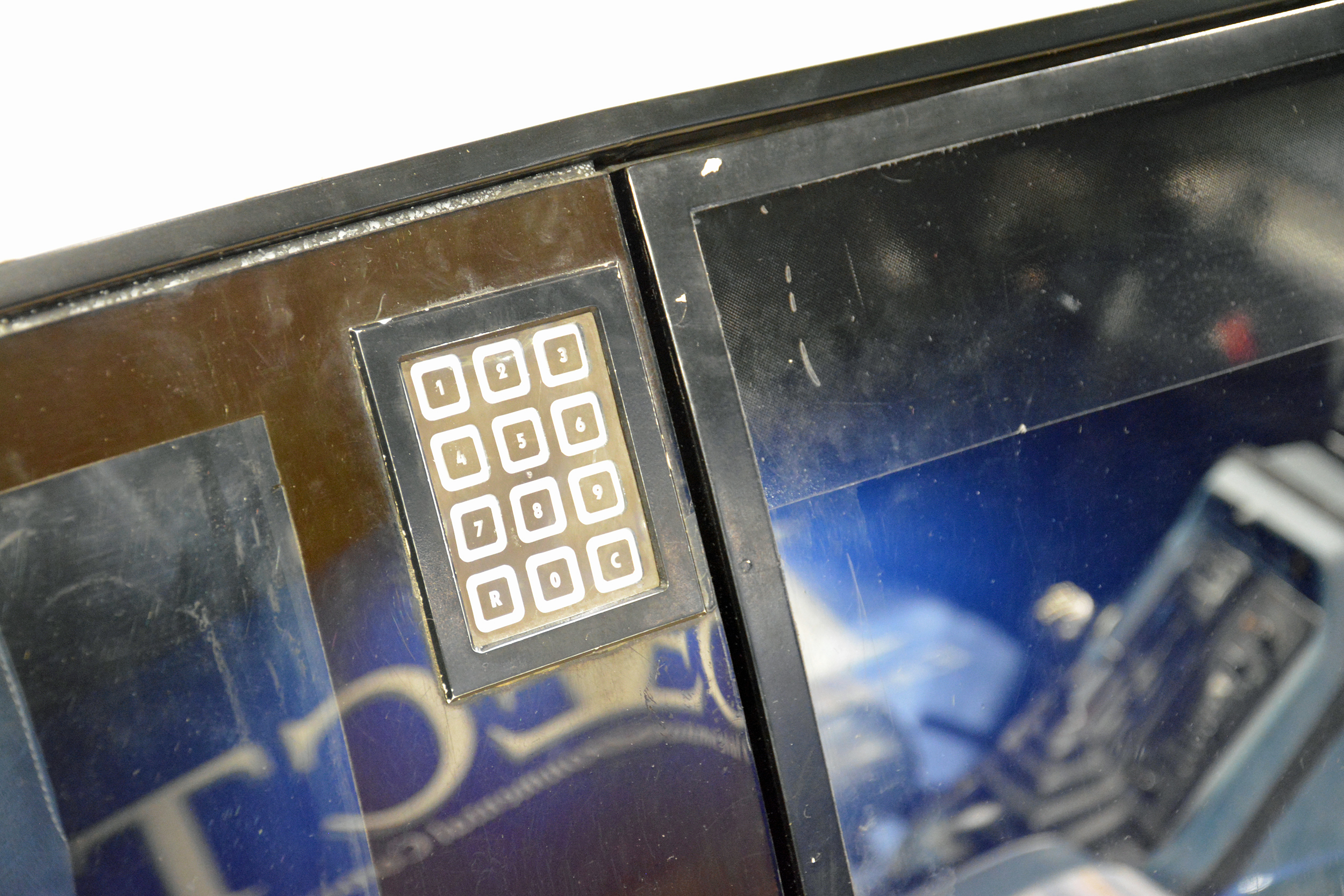 saab museum volvo lcp keypad detail