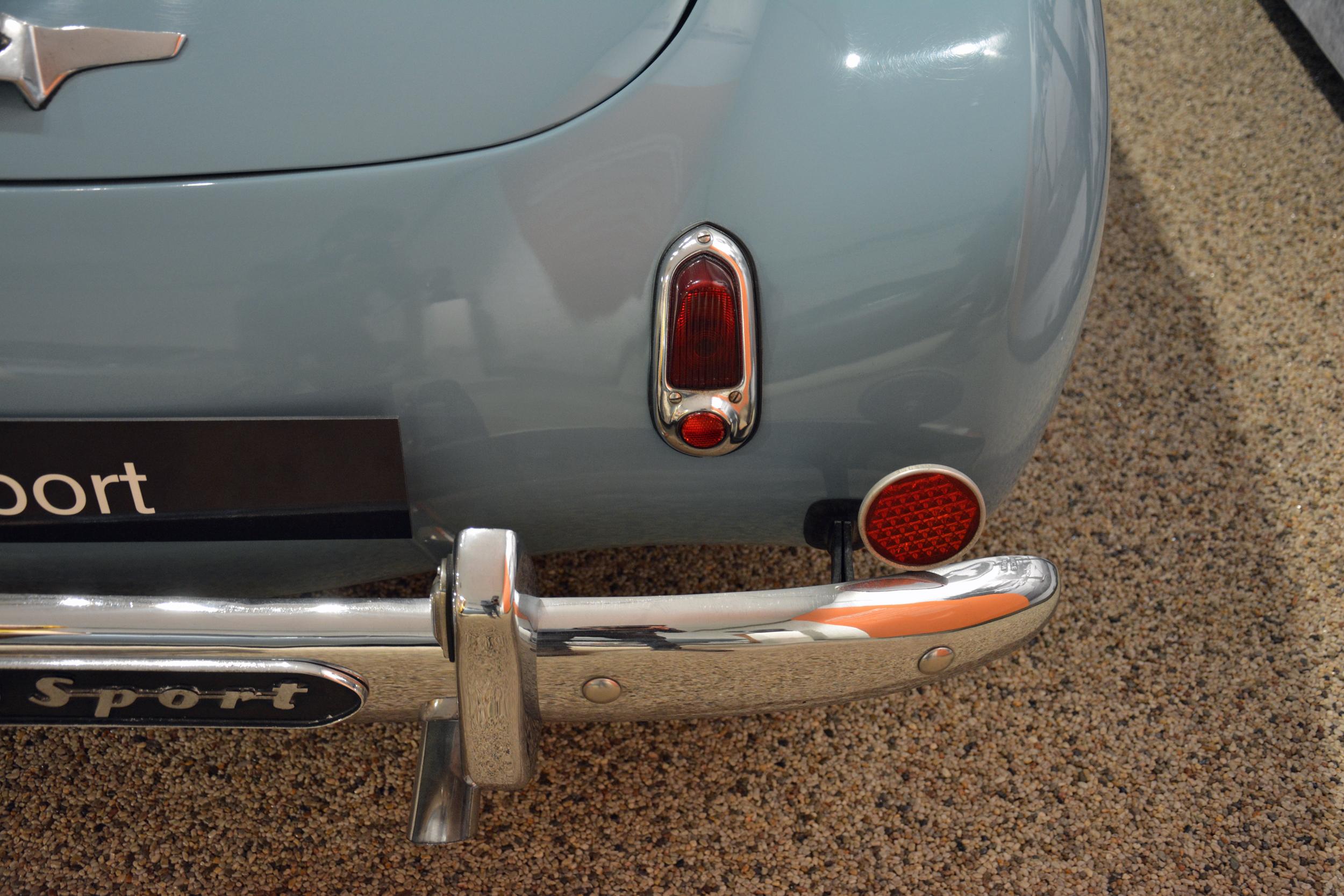 saab museum sport taillight detail