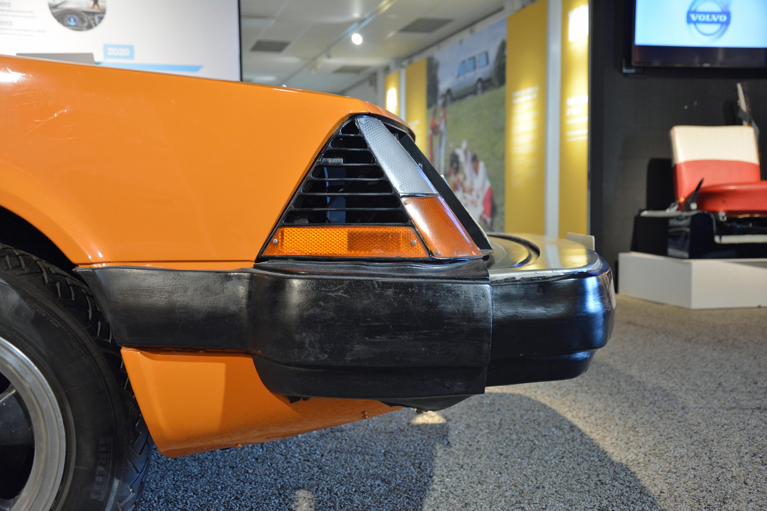 saab museum volvo VESC headlight side profile