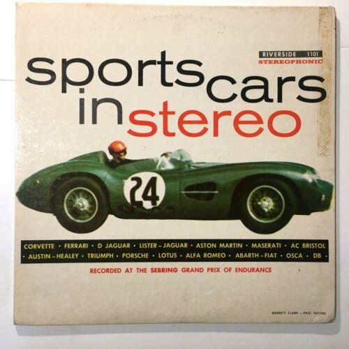 sports cars in stereo aston martin dbr2 album cover