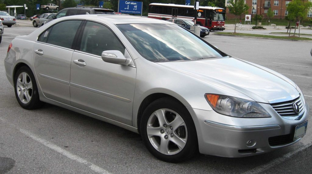 Second-Gen Acura RL 2005-2008