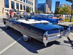 1965 Cadillac de Ville Convertible Rear Three-Quarter