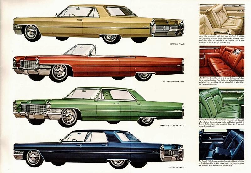 1965 Cadillac de Ville Advert