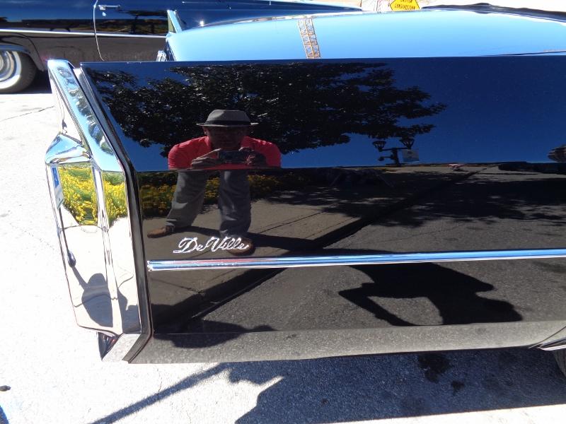 1965 Cadillac de Ville Convertible Rear Fin Badging