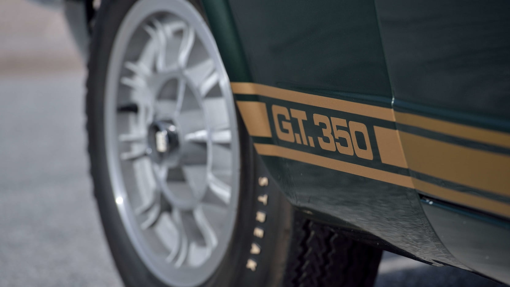1966 Shelby GT350 Convertible Decal