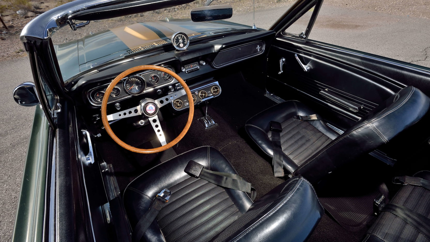 1966 Shelby GT350 Convertible Interior Front