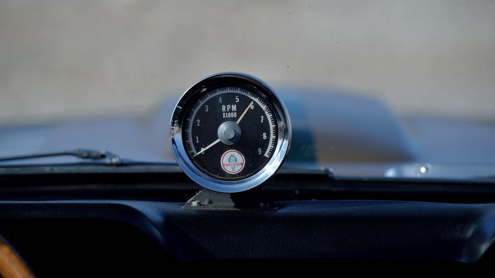 1966 Shelby GT350 Convertible RPM Gauge