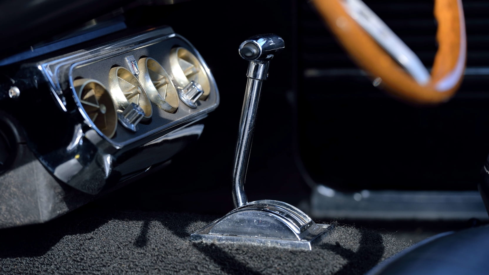 1966 Shelby GT350 Convertible Console Shifter