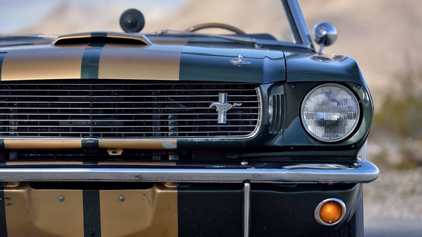1966 Shelby GT350 Convertible Headlight And Grille
