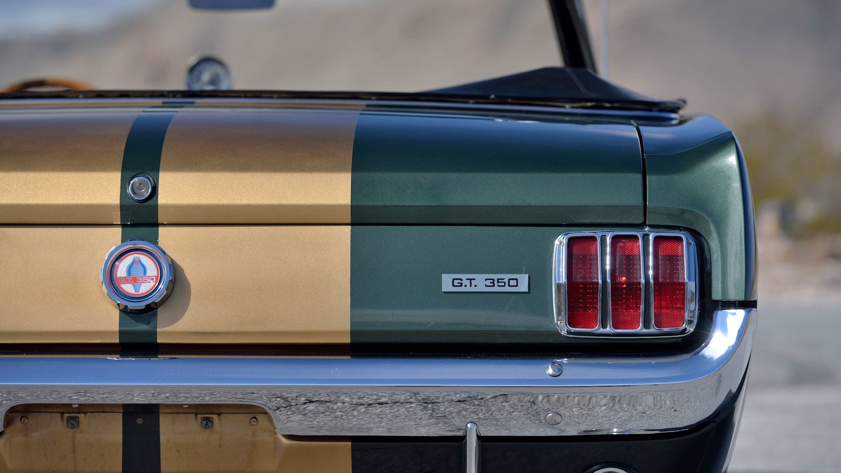 1966 Shelby GT350 Convertible Taillight