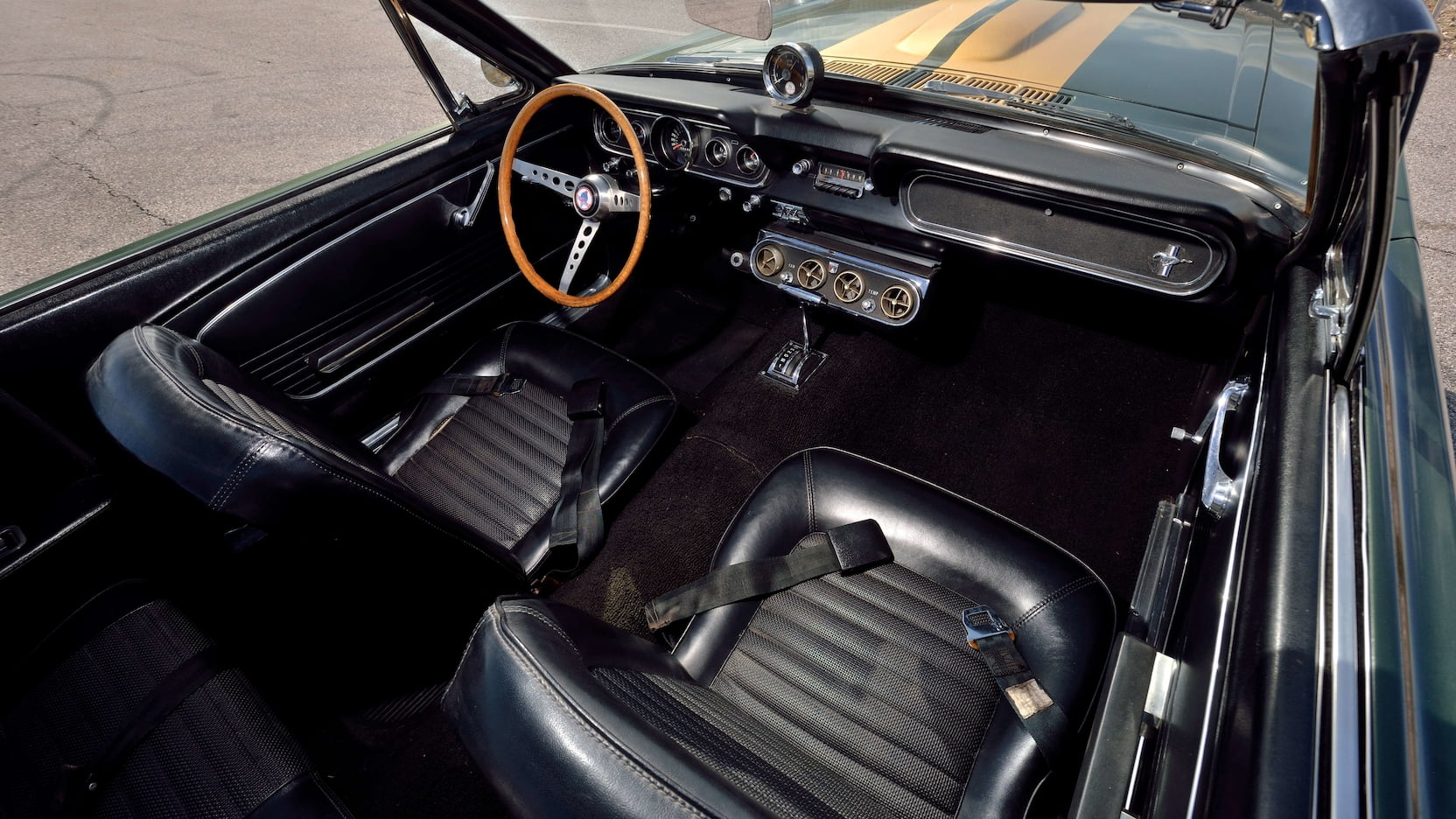 1966 Shelby GT350 Convertible Interior Front Angle
