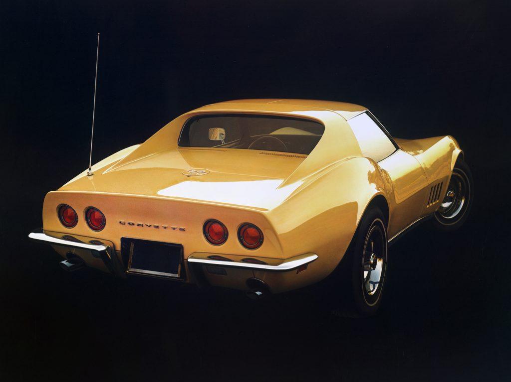 1968 Chevrolet Corvette Rear Three-Quarter
