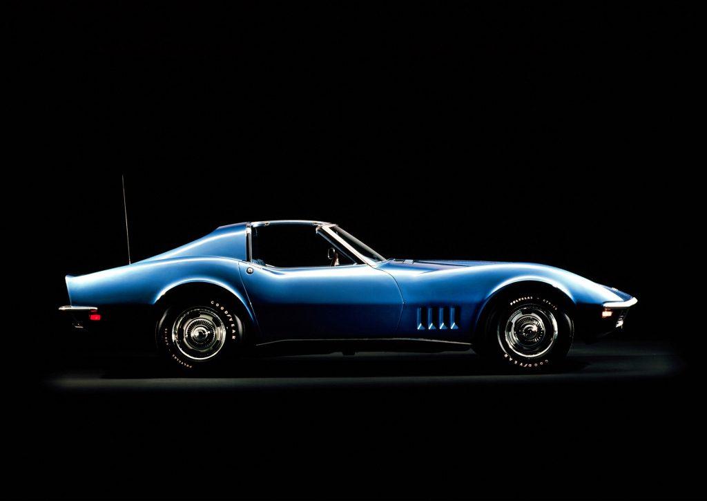 1968 Chevrolet Corvette Stingray Side Profile