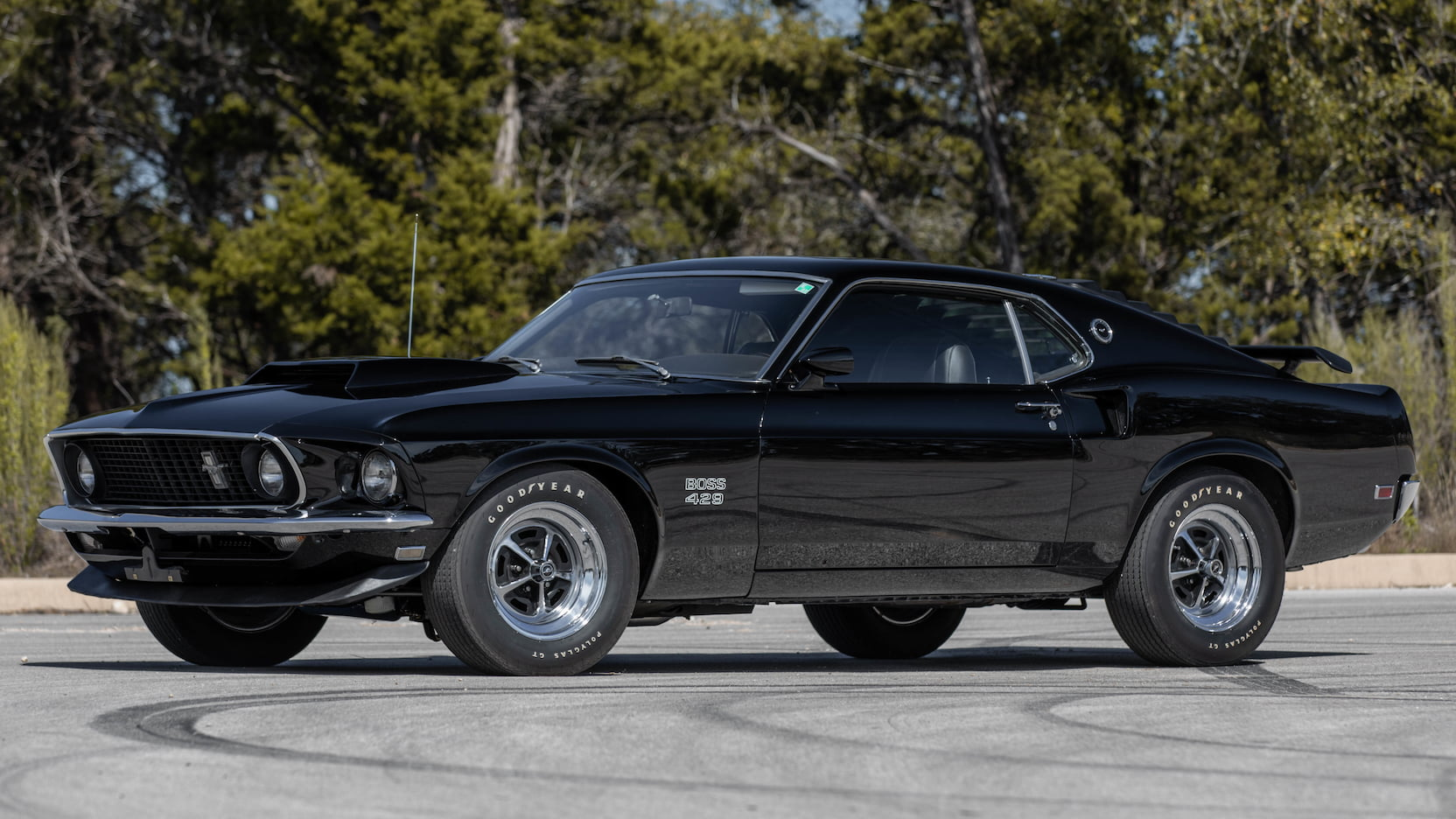 1969 Ford Mustang Boss 429 Fastback Front Three-Quarter