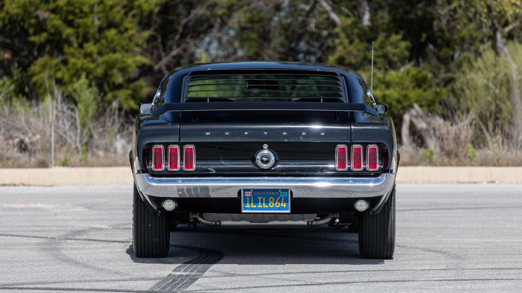 1969 Ford Mustang Boss 429 Fastback Rear