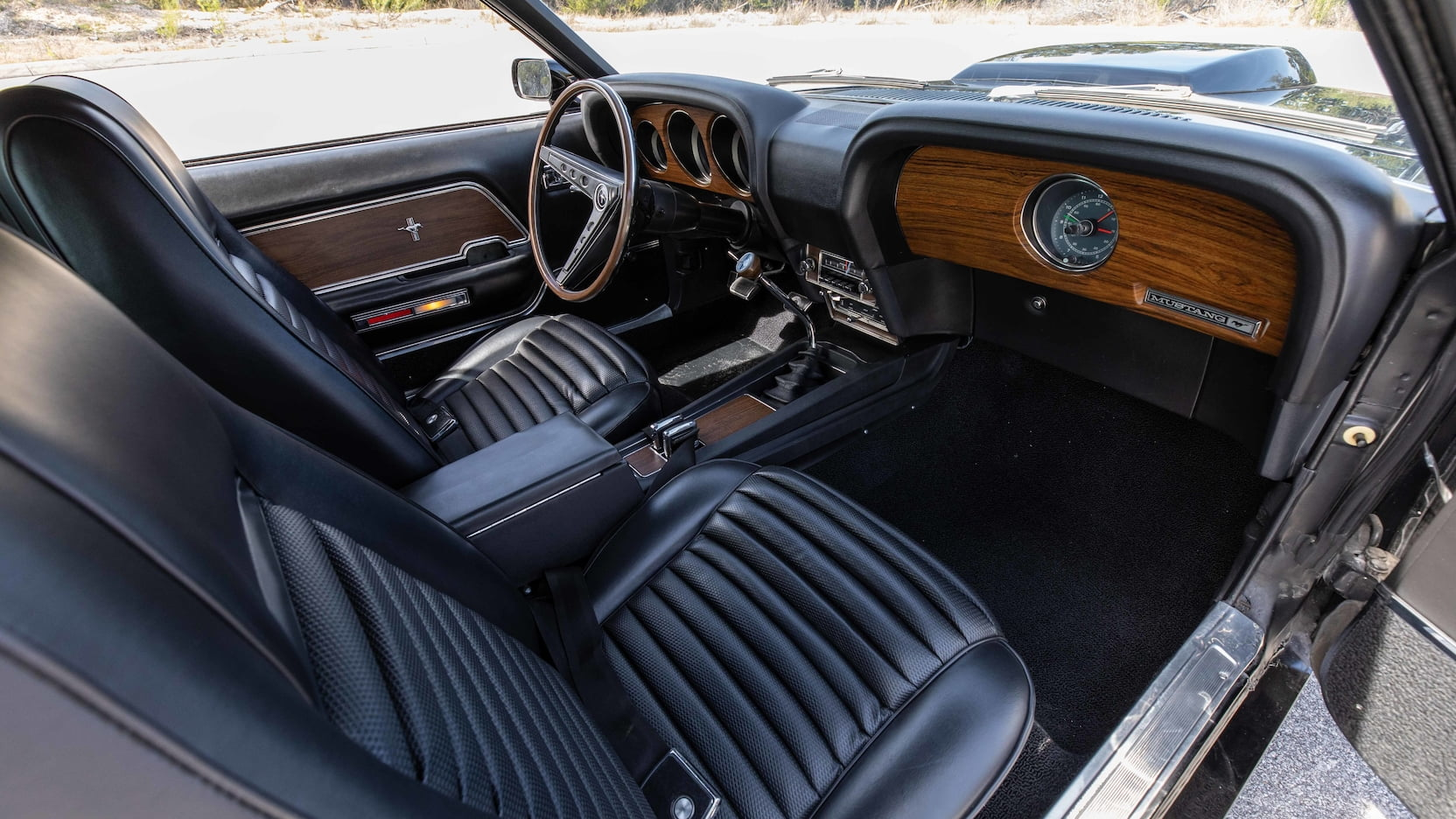 1969 Ford Mustang Boss 429 Fastback Interior Angle