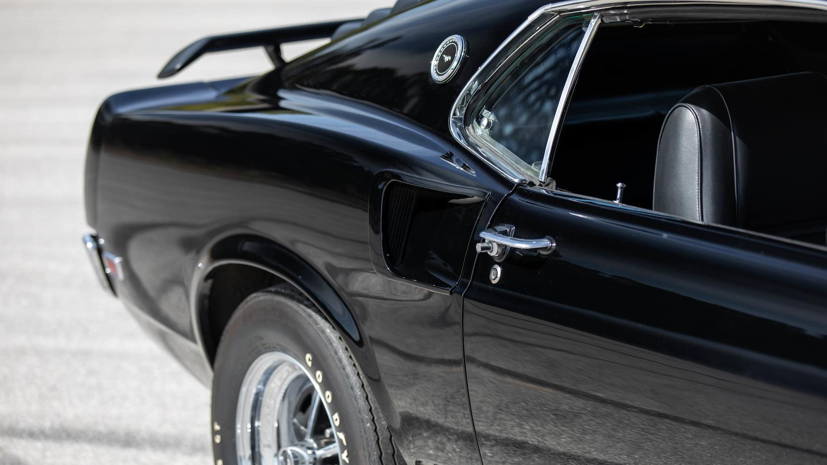 1969 Ford Mustang Boss 429 Fastback Rear Quarter Panel Side