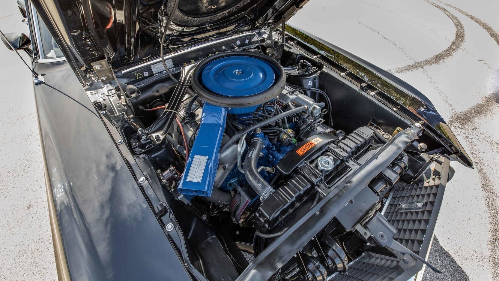 1969 Ford Mustang Boss 429 Fastback Engine Left