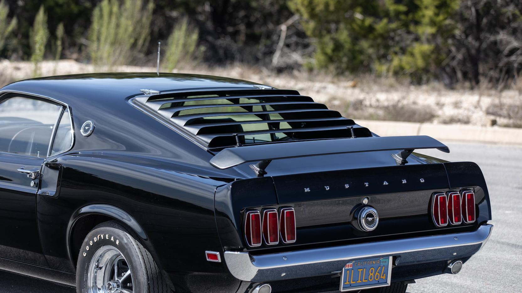1969 Ford Mustang Boss 429 Fastback Rear Half