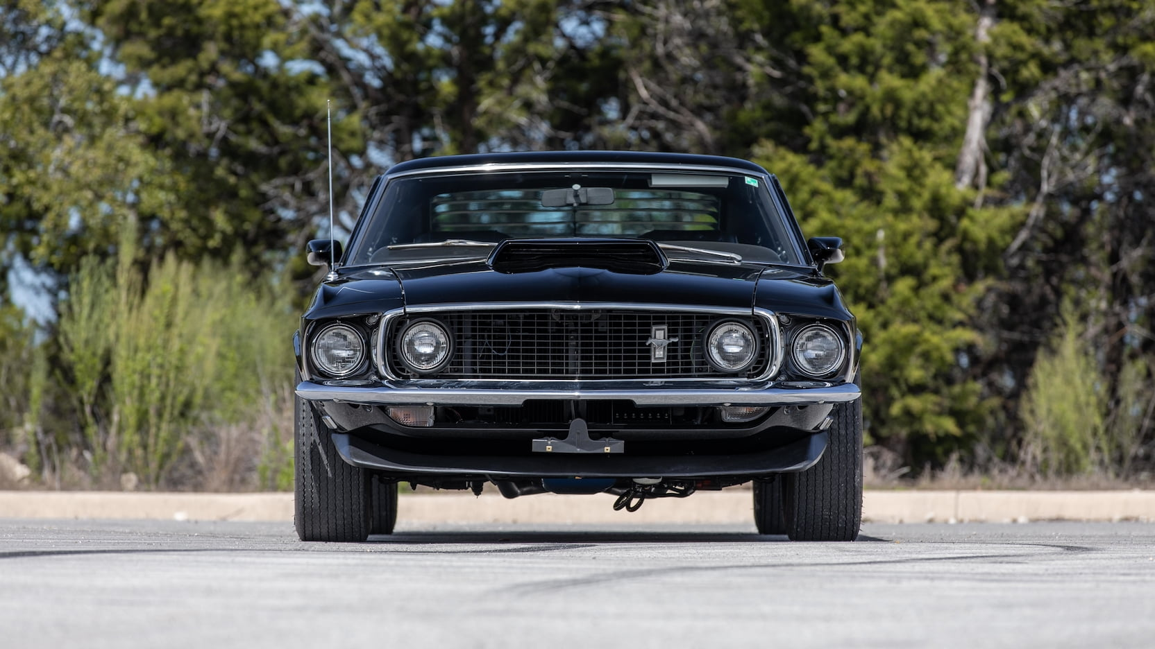 1969 Ford Mustang Boss 429 Fastback Front