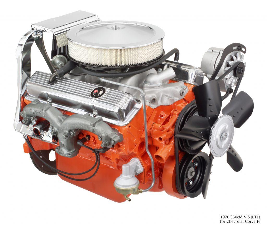 Chevrolet Corvette V8 Engine