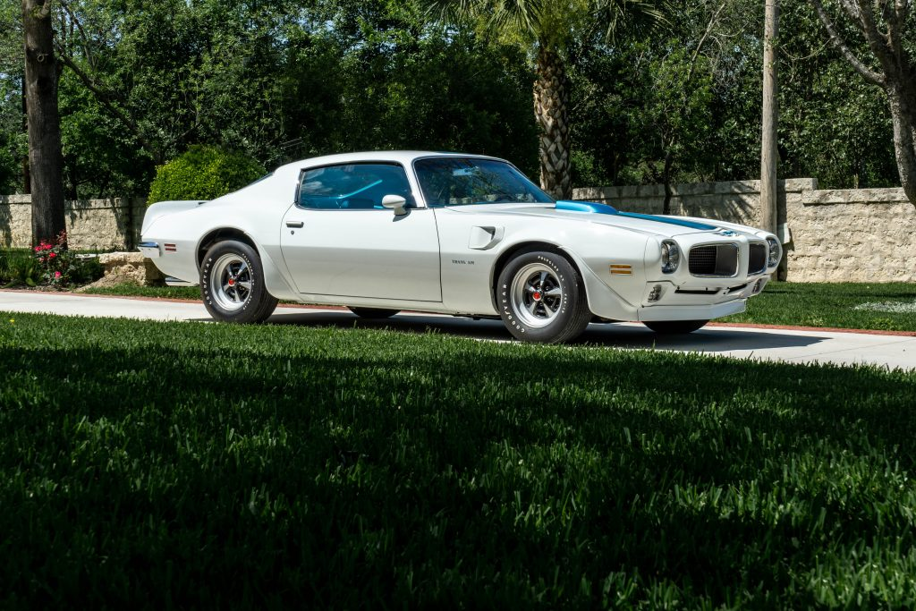 1970 Pontiac Trans Am Front Three-Quarter