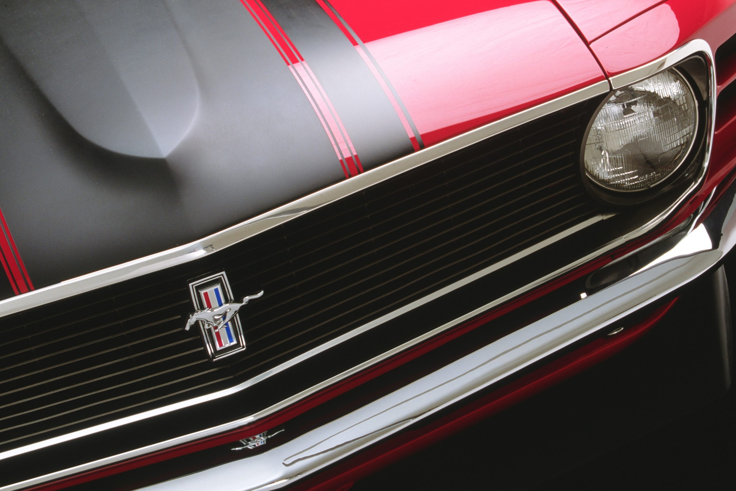 1970 Ford Mustang Mach 1 Fastback Grille