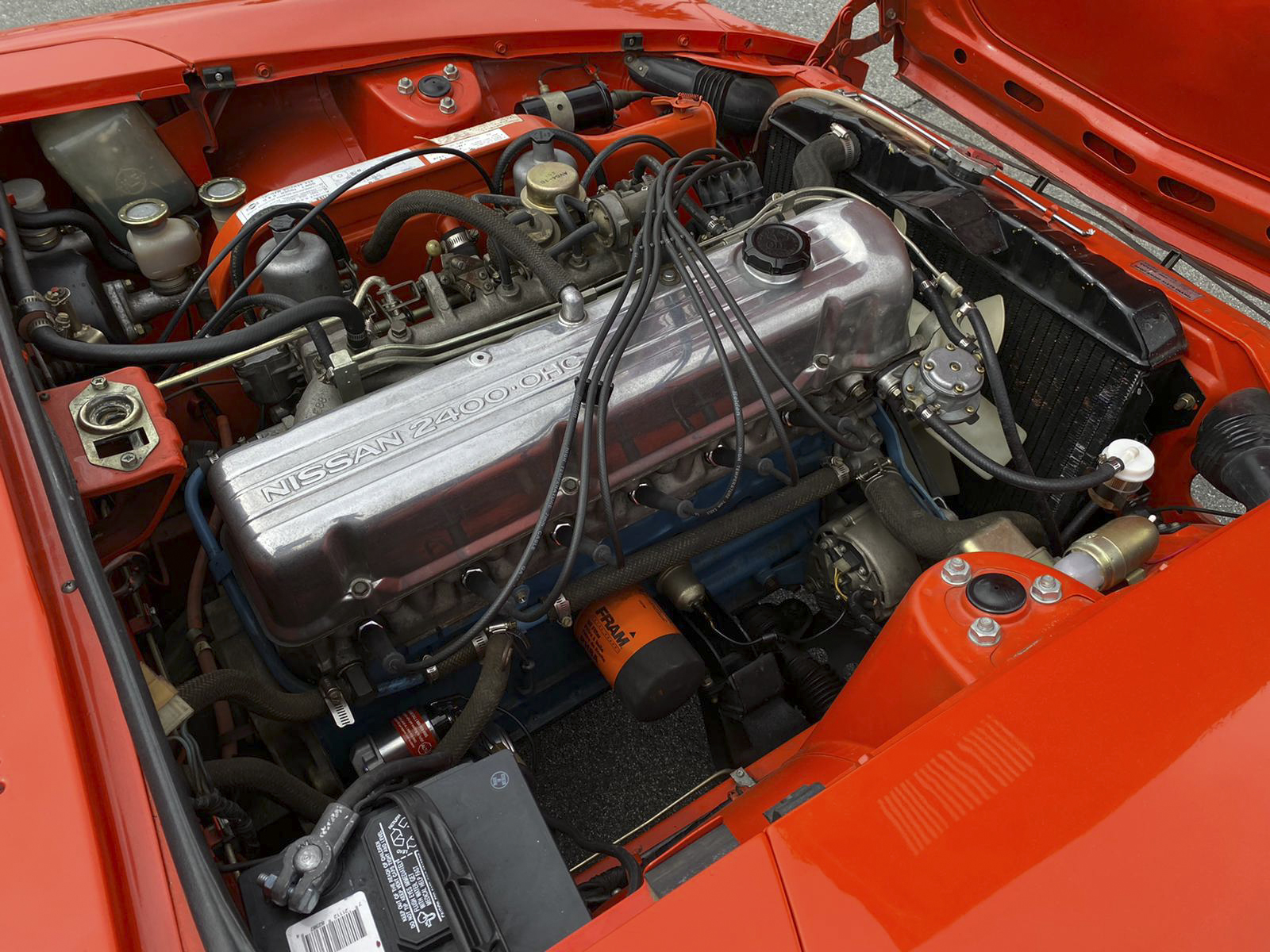1972 Datsun 240Z Engine