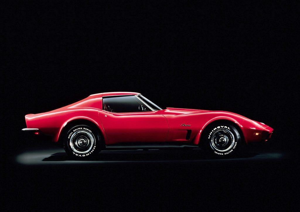1973 Chevrolet Corvette Stingray Side Profile