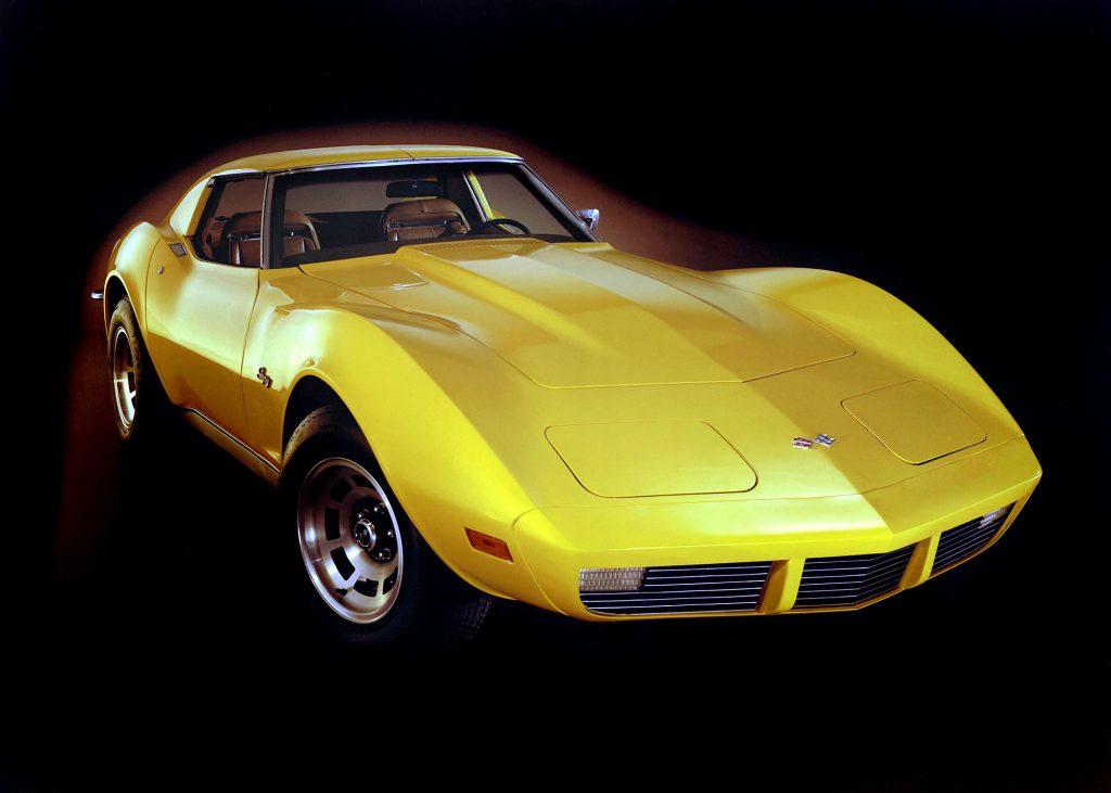 1973 Chevrolet Corvette Front Three-Quarter