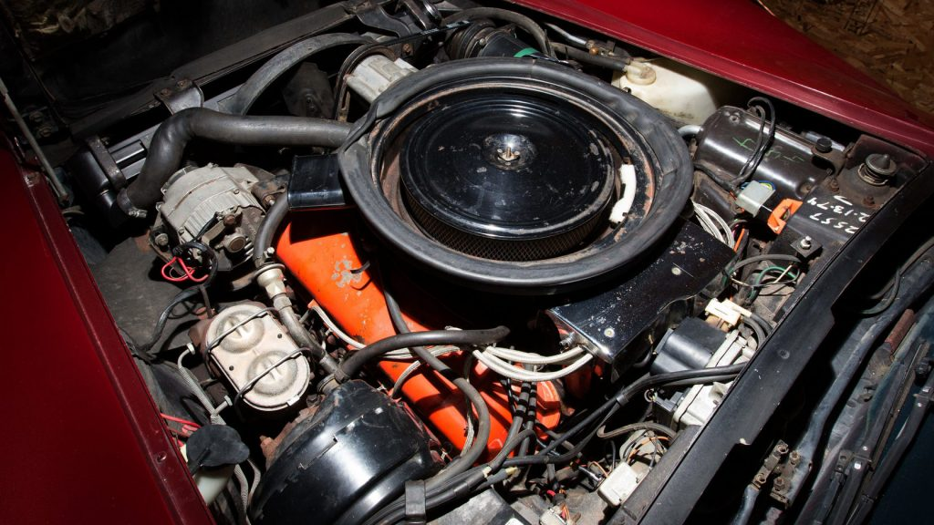 1974 Corvette 454 Engine