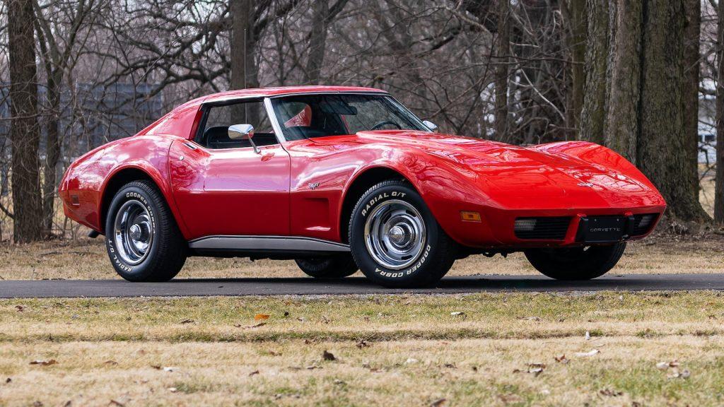 1975 Chevrolet Corvette Coupe Front Three-Quarter