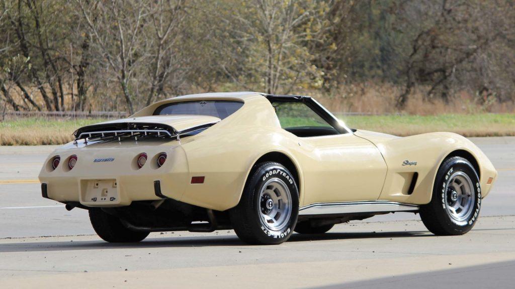 1976 Chevrolet Corvette Coupe Rear Three-Quarter