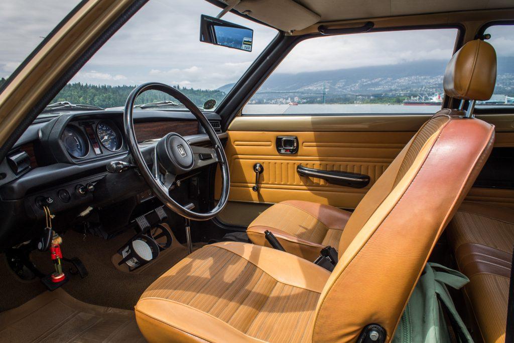 1977 Honda Civic Hatchback Interior Side Profile