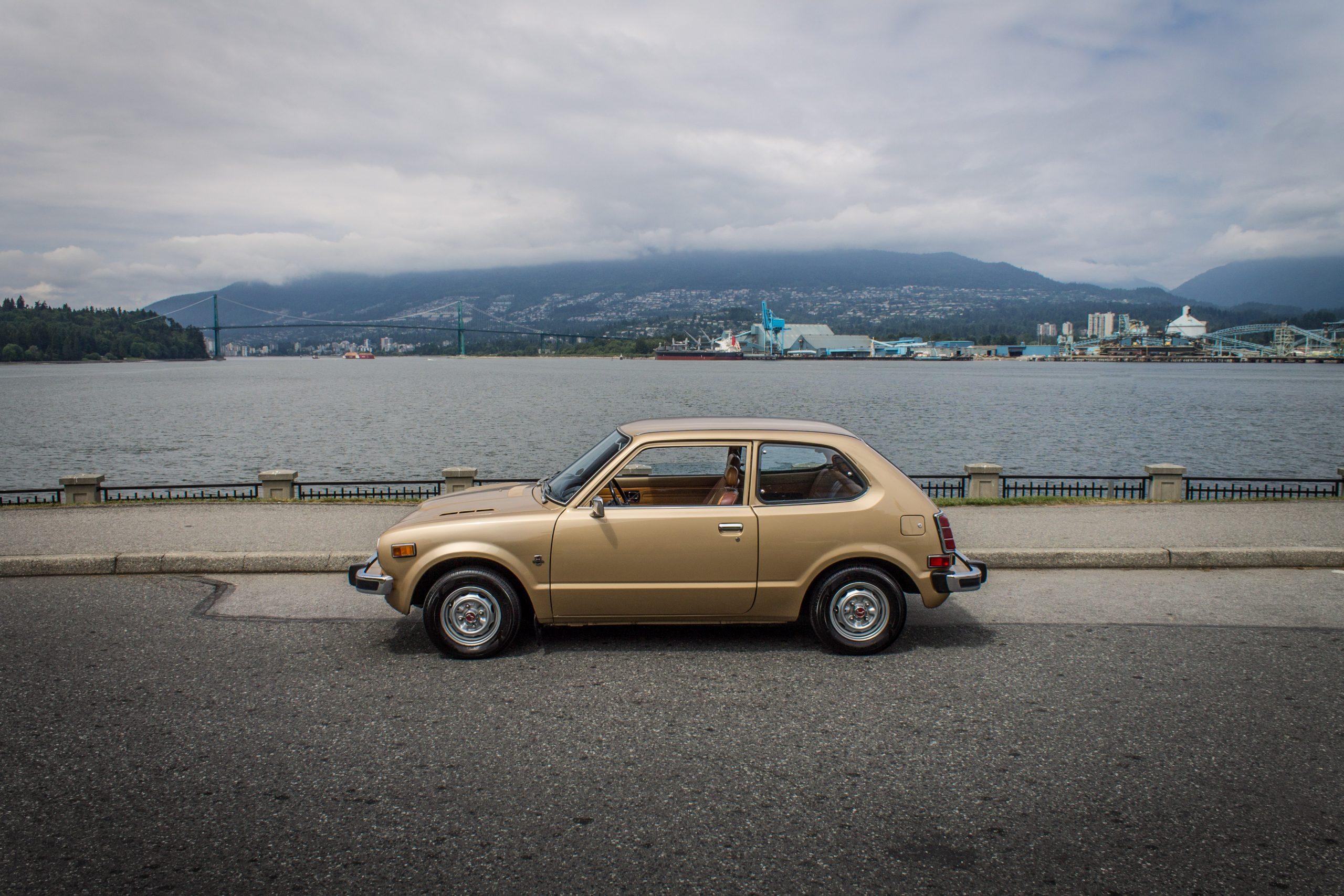 1977 Honda Civic Hatchback Side Profile