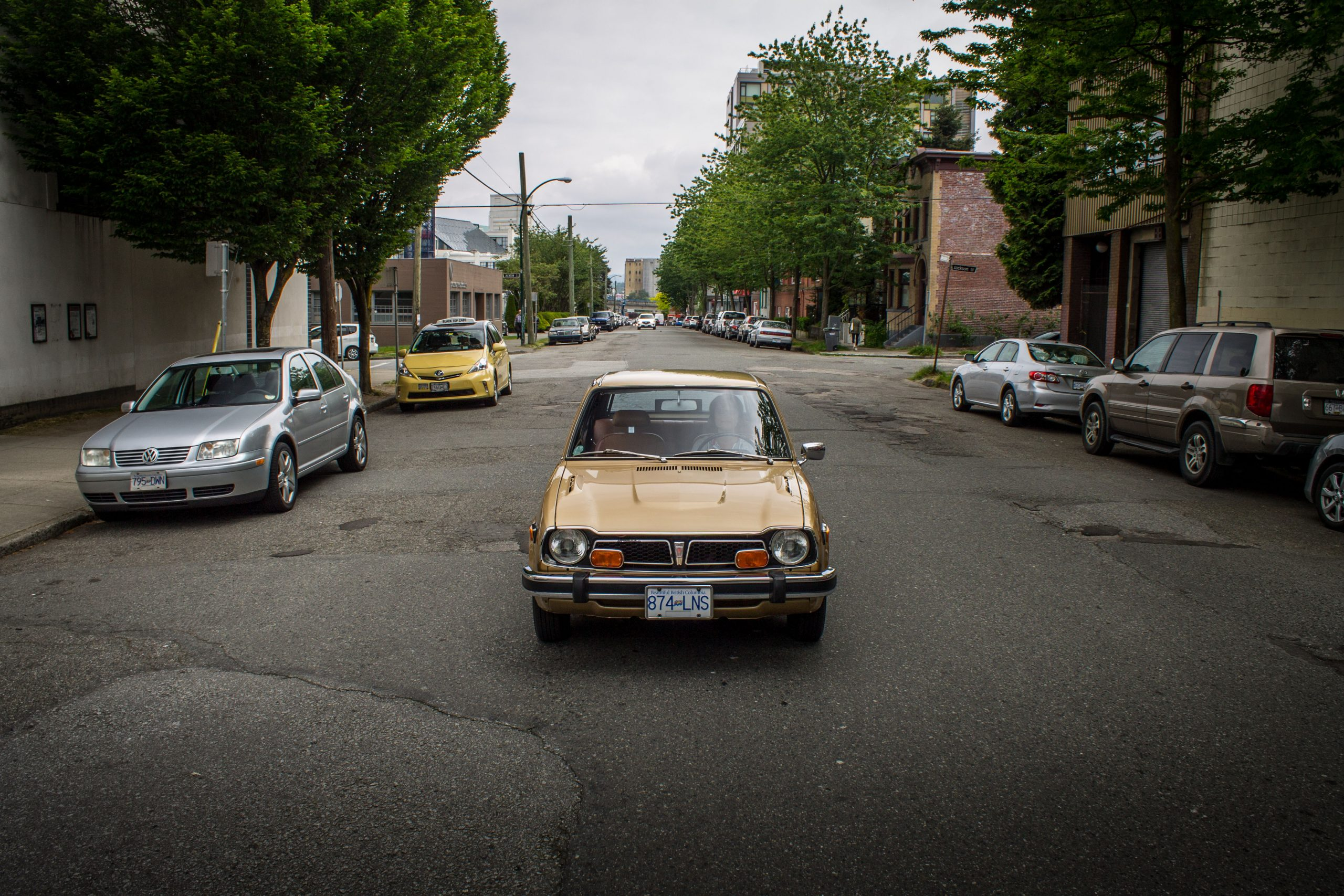1977 Honda Civic Hatchback Front