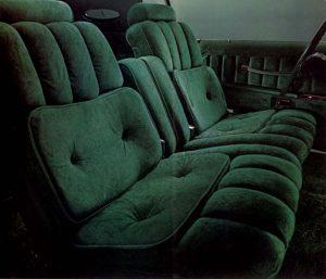 1977 Continental Mark V Givenchy Velour Interior