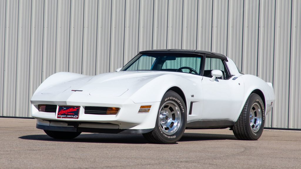 1980 Chevrolet Corvette Coupe Front Three-Quarter