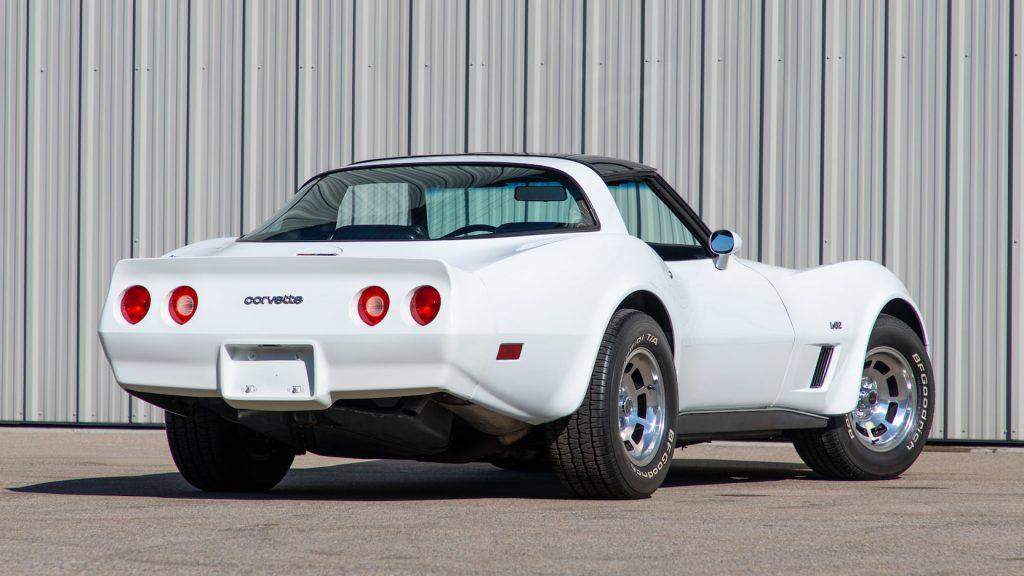 1980 Chevrolet Corvette Coupe Rear Three-Quarter