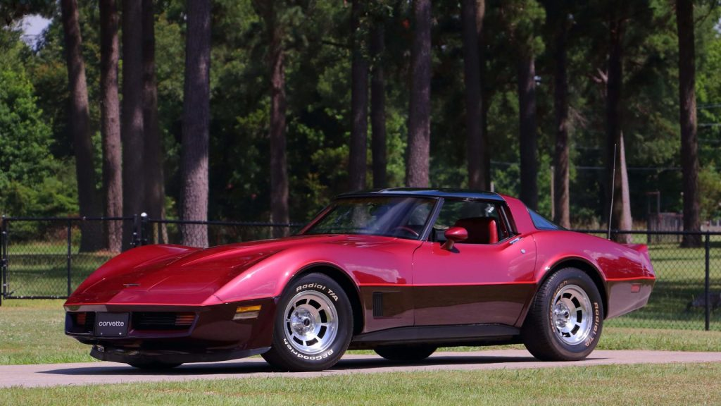 1981 Chevrolet Corvette Coupe Front Three-Quarter