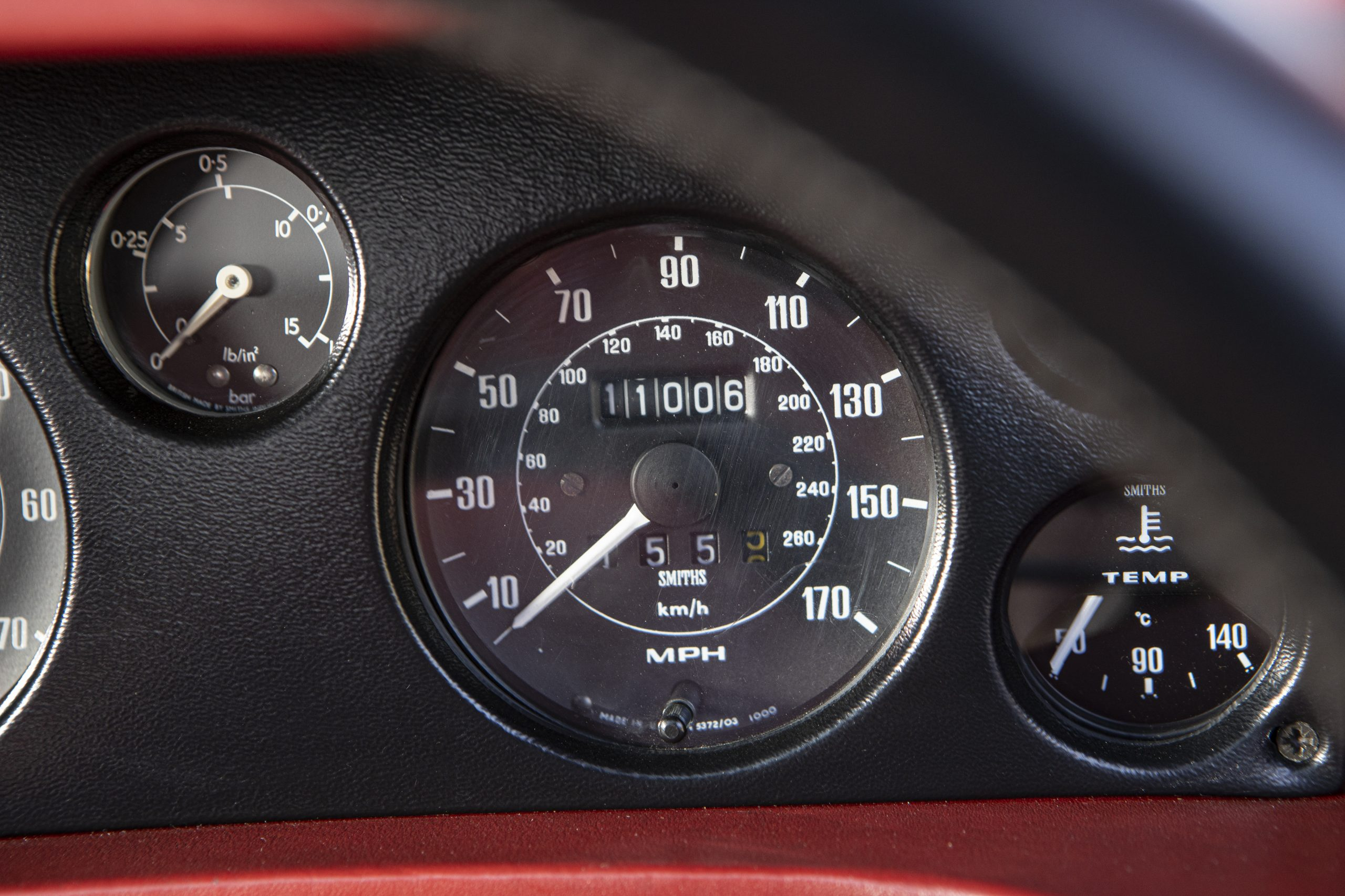 Lotus Espirit Series 3 Turbo Gauges