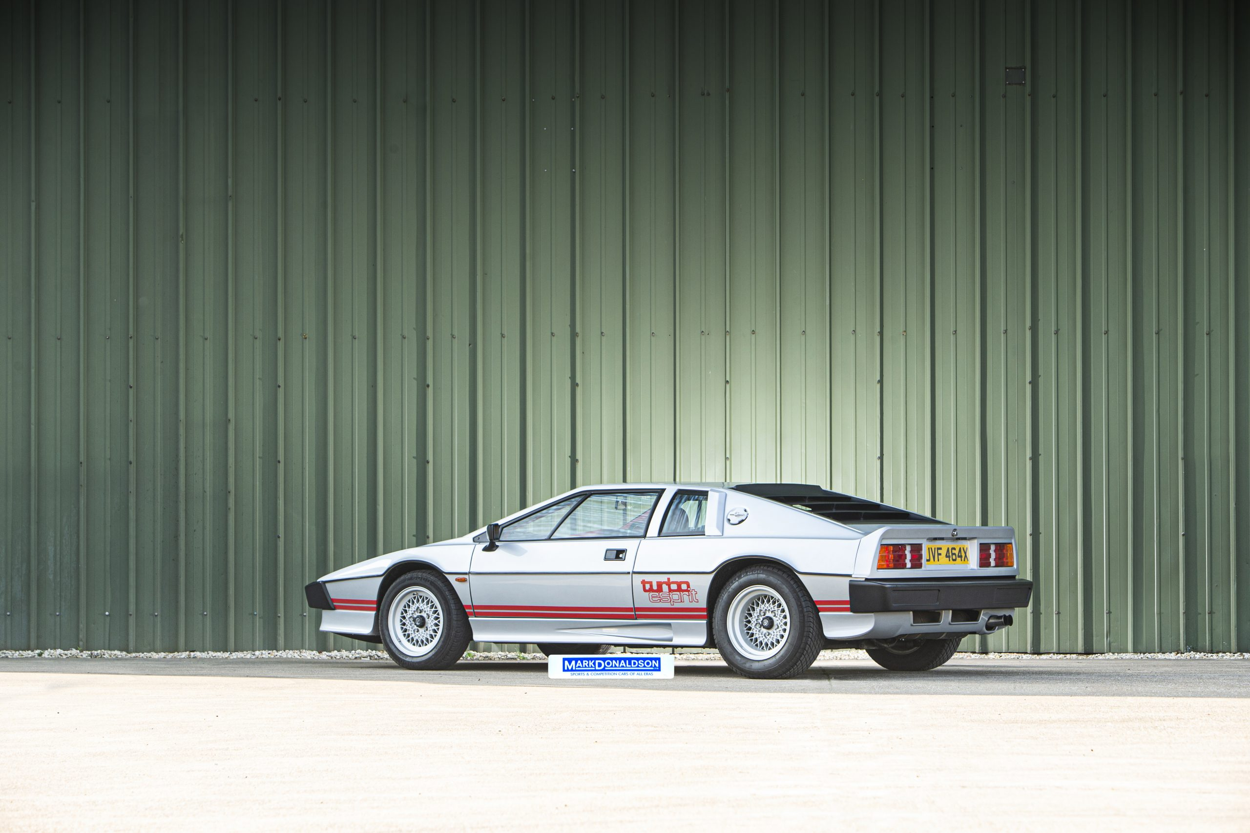Lotus Espirit Series 3 Turbo Rear Three-Quarter