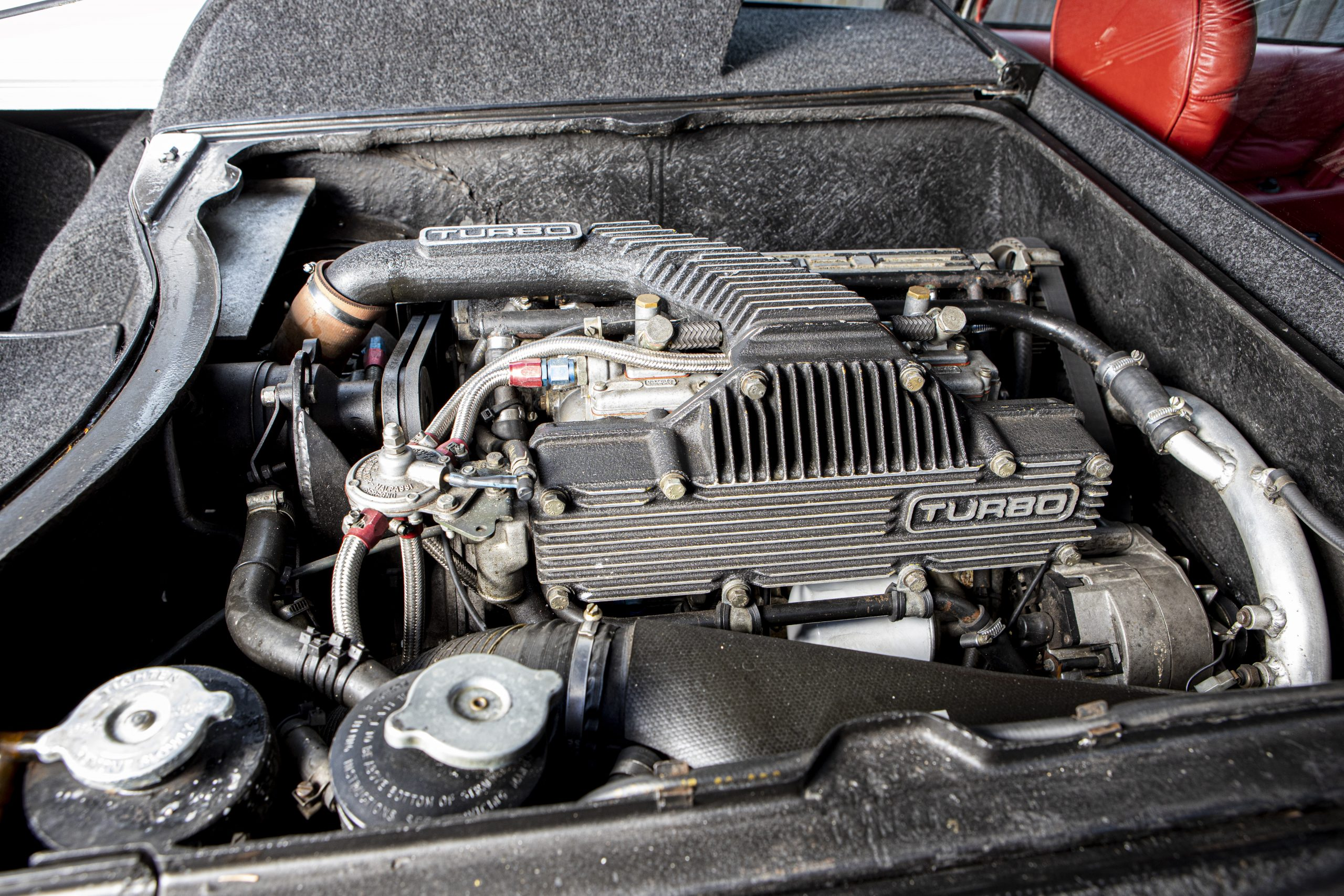 Lotus Espirit Series 3 Turbo Engine