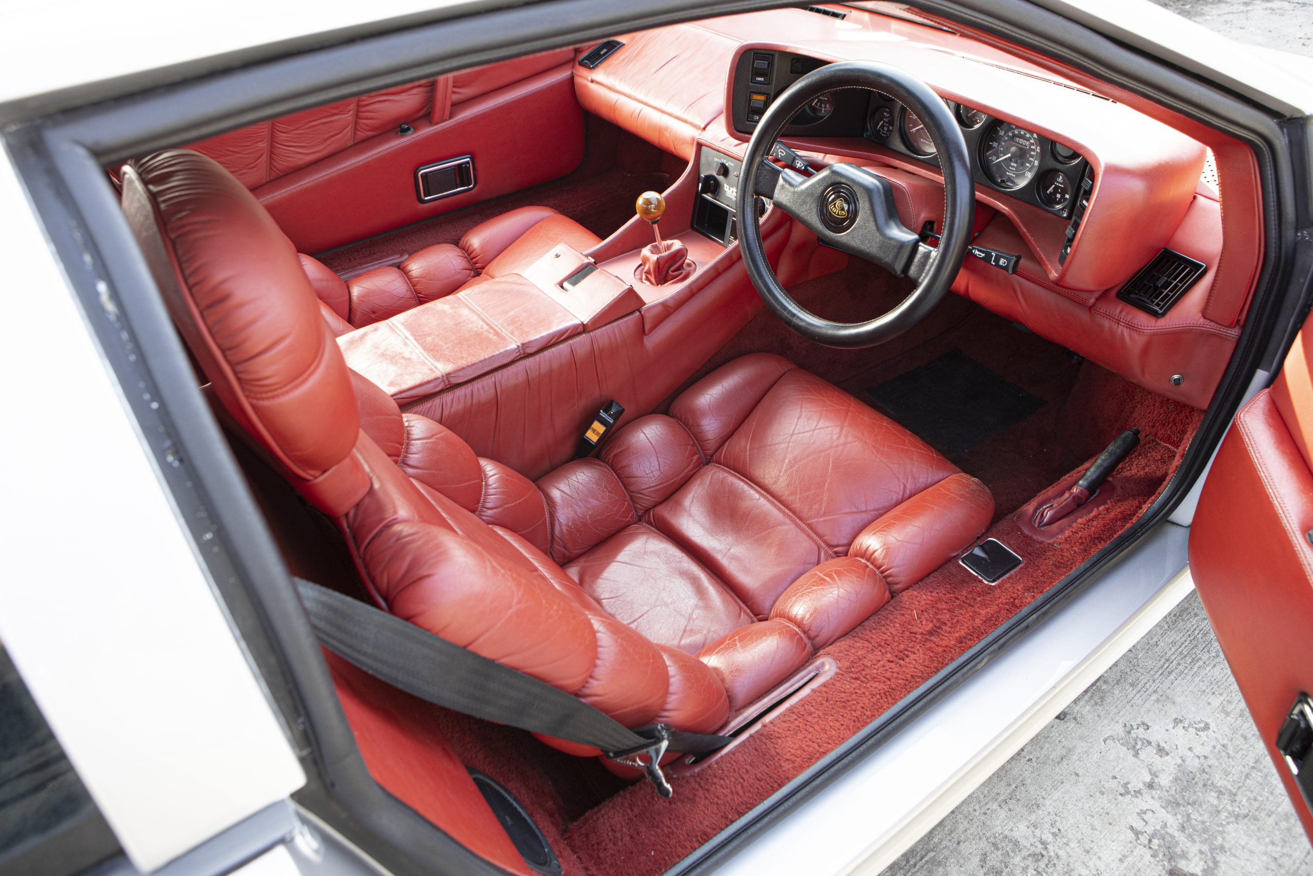 Lotus Espirit Series 3 Turbo Interior Right