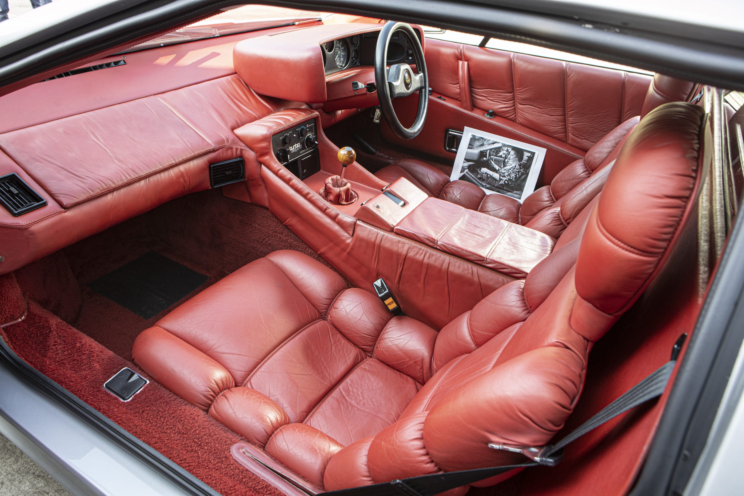 Lotus Espirit Series 3 Turbo Interior Left