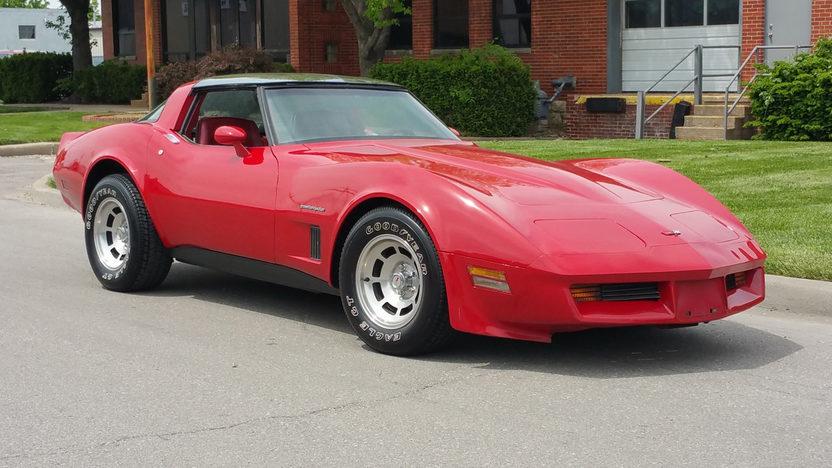 1982 Chevrolet Corvette Coupe Front Three-Quarter